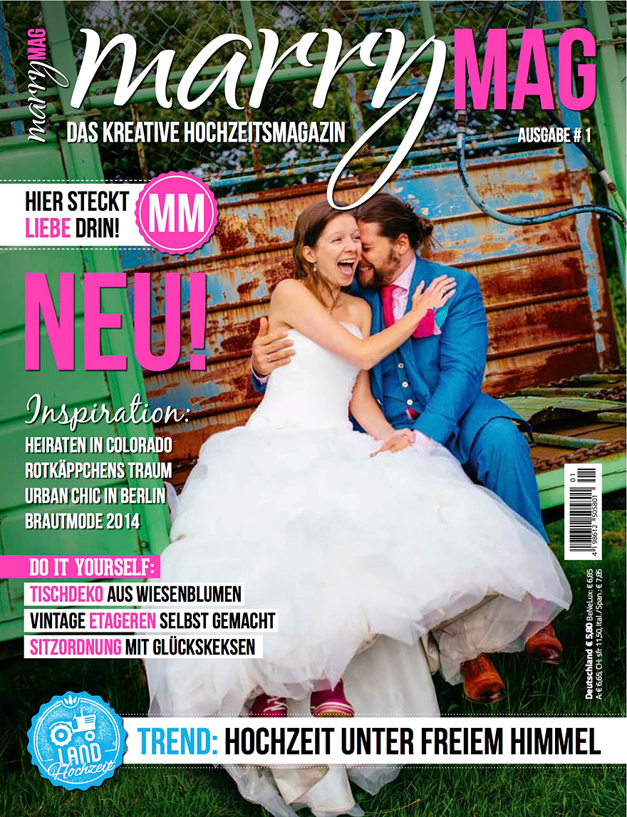 MarryMAG Wedding Magazine Published My Cover Story From A