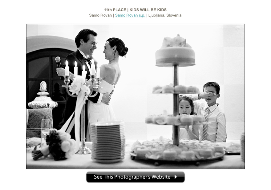 International Society of Professional Wedding Photographers Awards